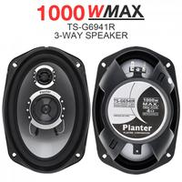 2pcs 6x9Inch 1000W 3 way Car Coaxial Auto Audio Music Stereo Full Range Frequency Hifi Speakers Non destructive Installation