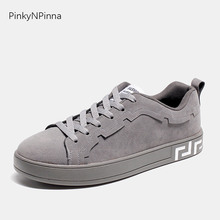mens pigskin black sneakers flat young street punk rock style laced trainers casual holiday shoes for jeans cheap high quality