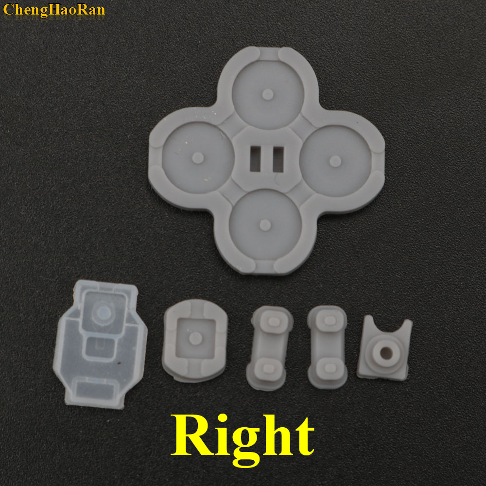 Image 2 - 1set Silicon Rubber Button For Nintendo Switch Joy Con Left Right Controller Membrane Pad-in Replacement Parts & Accessories from Consumer Electronics