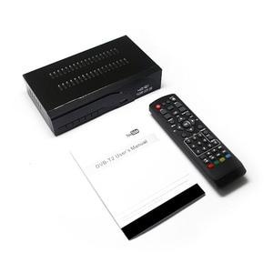 Image 4 - DVB T2 지상파 디지털 수신기 지원 H.265/HEVC DVB T h265 hevc dvb t2 뜨거운 판매 유럽 체코 공화국 DVB T2 셋톱 박스
