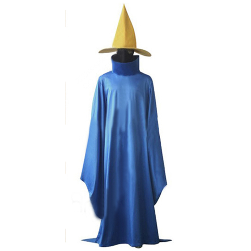 Anime Final Fantasy Cosplay clothing Final Fantasy Black Mage Cosplay Costume