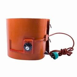 DIY Customizable 200L Oil Drum Silicone Heating Belt 1740x250mm 2000W Y