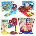 Colorful мраморы младенцы баскетбол хомут съемки игра родитель - дети игры пластик дети игрушки