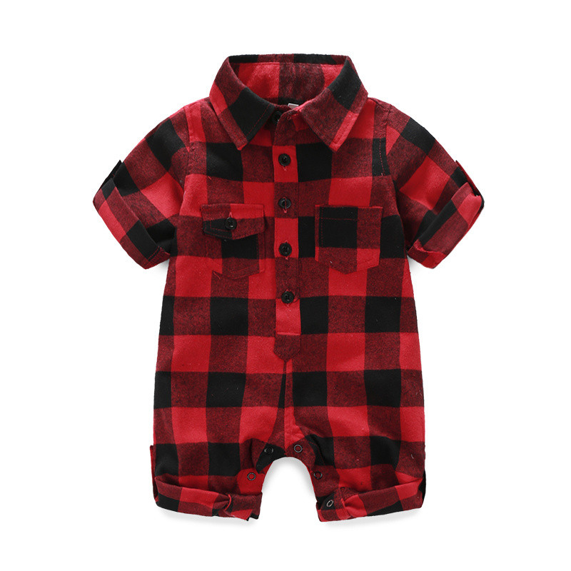 Fashion Newborn rompers bebes Baby boy Romper branded
