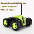 NOVO Carro RC com Câmera 4CH Wifi tanque Nuvem Rover Portátil Câmera IP Eletrodomésticos IR Controle Remoto De Um Botão Home FSWB