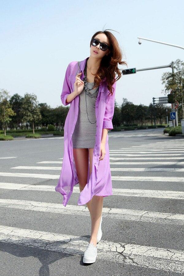 3b22398d08251 Summer style Women's sunscreen shirt Casual clothes Summer travel ...
