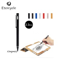 High Precision 2 3mm Active Chargeable Capacitive Touch Pen Stylus For IOS Android Microsoft Tablets PAD