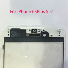 New Original Touch Screen With Middle Frame Assembly for iphone 6s plus 5.5inch Replacement Outer Glass Lens with Frame Bezel
