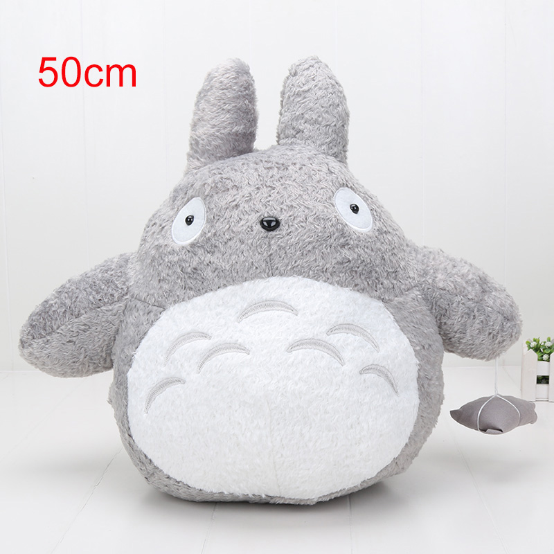 50cm My neighbor totoro plush toys soft stuffed animal doll toy childrens birthday gift