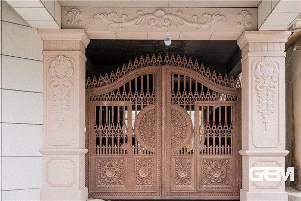 Home Aluminium Gate Design / Steel Sliding Gate / Aluminum Fence Gate Designs Hc-ag21