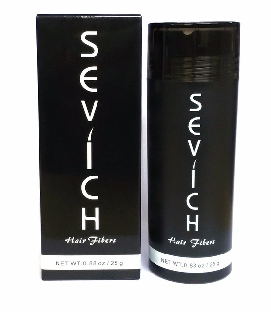 Beauty Sevich Hair Fiber Thickening Hair Styling Keratin Hair Fibre Spray Applicator Hair Loss Powder Blending Extension 25g
