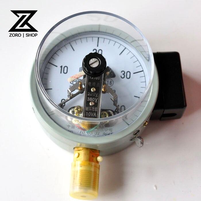 0 6MPA Electric Contact Pressure Gauge YX 100-in Pressure Gauges ...