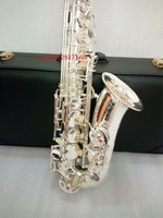 France Alto Saxophon Selmer 54 E Flat Sterling Silver Plated Alto Saxophone Sales Promotion Free Shipping