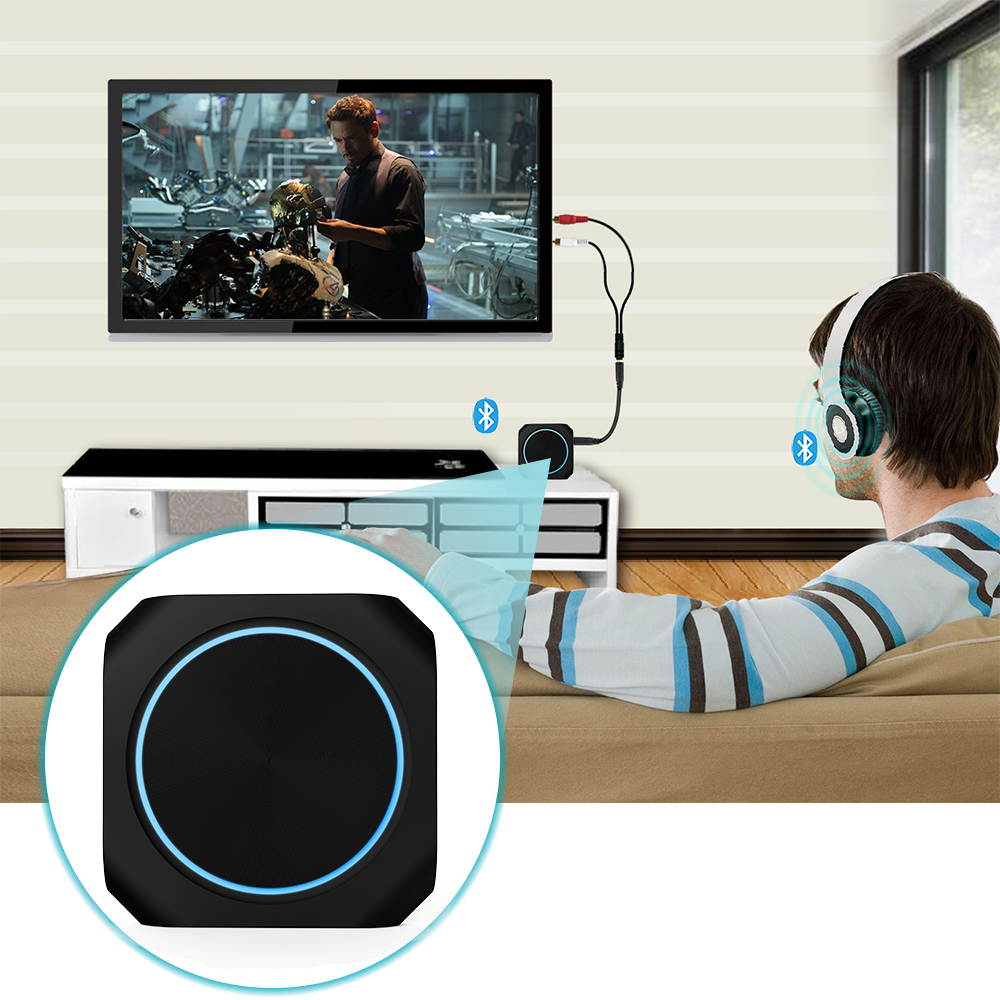 Zoweetek -418 Noua transmisie stereo Bluetooth fără fir Bluetooth - Audio și video portabile