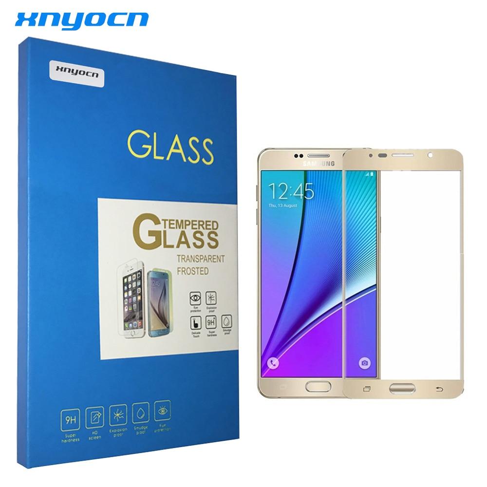 0.26MM 2.5D gücləndirilmiş ekranlı çap Samsung Galaxy S7 S6 S5 - Cib telefonu aksesuarları və hissələri - Fotoqrafiya 1