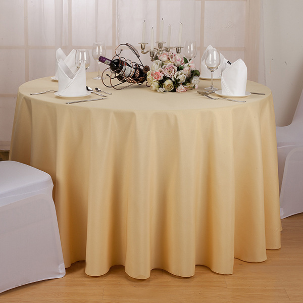 fiber tablecloth round party table covers satin fabric table cloth