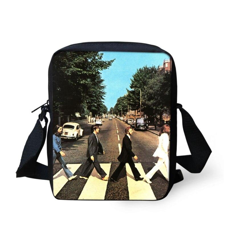 FORUDESIGNS The Beatles Mini Women Messenger Bags Vintage Rock Band Crossbody Bag Bolsa Mujer Kid Girls Abbey Road Shoulder Bags beatles beatles anthology 3 3 lp