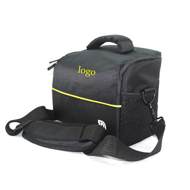 Bolso de La Cámara RÉFLEX DIGITAL A Prueba de Golpes Negro para Nikon D3200 D3100 D5500 D5100 D3300 D5300 D7100 D5200 D90 D7000 D610 cámara P600 cubierta