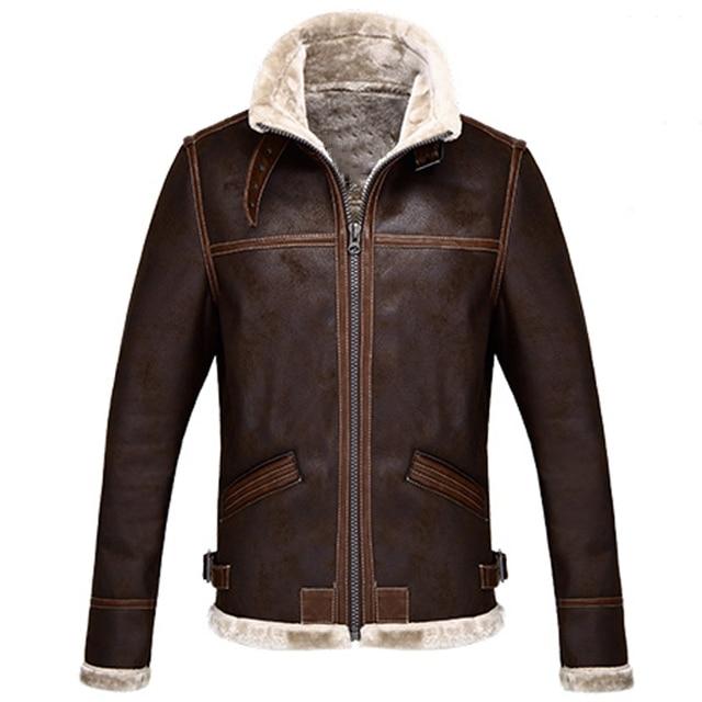 e9afa0d176e Mens Faux Fur Coat DIY Game Clothing Russian Winter Mens Fur Jacket  Resident Evil Designer Mens Fur Jackets and Coats Brand C362