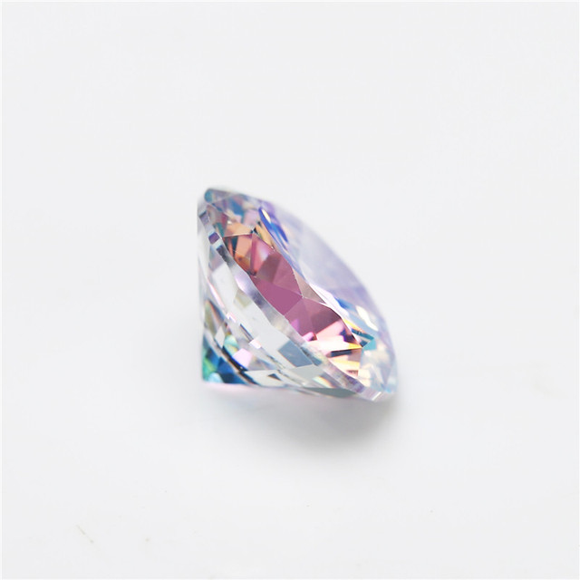 размер 1 мм ~ 10 ab разноцветный кубический цирконий камень фотография