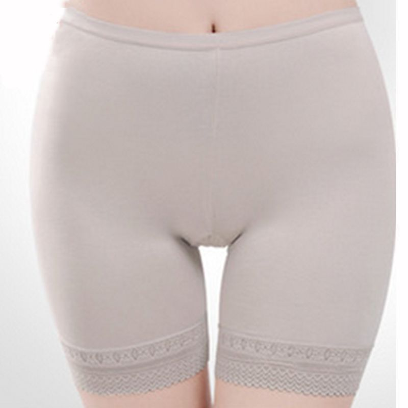 Hot Women Underwear Safety Pants Shorts Modal Lace Panties Comfy Briefs Summer Shorts Fit For Dress Free Shipping felina 4 pack lace modal bikini panties