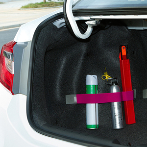 Image 2 - Araba gövde depolama aygıtı cırt cırt sabit sapanlar düz renk sihirli çıkartmalar araba aksesuarı 5cm x 20cm/40cm/60cm/80cm