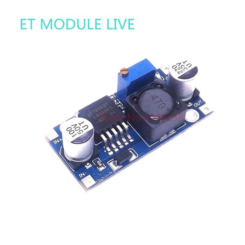 1PCS LM2596 LM2596S DC-DC 3-40V adjustable step-down power Supply module Voltage regulator 3A with power light 24V to12V/9V/3.3V dc 3 2 40v to dc 1 2 35v 3a auto step down lm2596s converter voltage regulator black