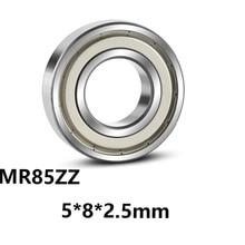 3 шт./лот MR85ZZ Миниатюрные Мини подшипники с глубоким желобом MR85ZZ MR85-ZZ 5*8*2,5 мм 5*8*2,5 подшипник из стали