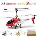 Оригинал Syma 3.5CH Rc вертолет дистанционного управления вертолет управления по радио металл S107G сплава фюзеляжа r / c Helicoptero с гироскопом квадрокоптер вертолет вертолёт радиоуправляемые игрушки дрон коптер