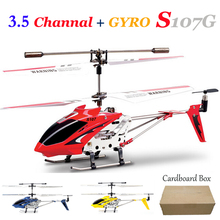 Syma 3.5CH Rc Helicopter Skimmer Remote Control Hexacopter Radio Control Metal S107G alloy fuselage R/C Helicoptero with gyro