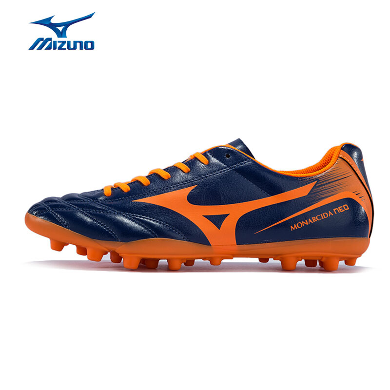 MIZUNO Men's MONARCIDA NEO AG Soccer Shoes Cushioning Slip Resistance Sports Shoes Sneakers P1GA172554 YXZ051 mizuno men s sports beathable cushioning soccer shoes monarcida fs as light sport shoes sneakers p1gd152301 yxz003