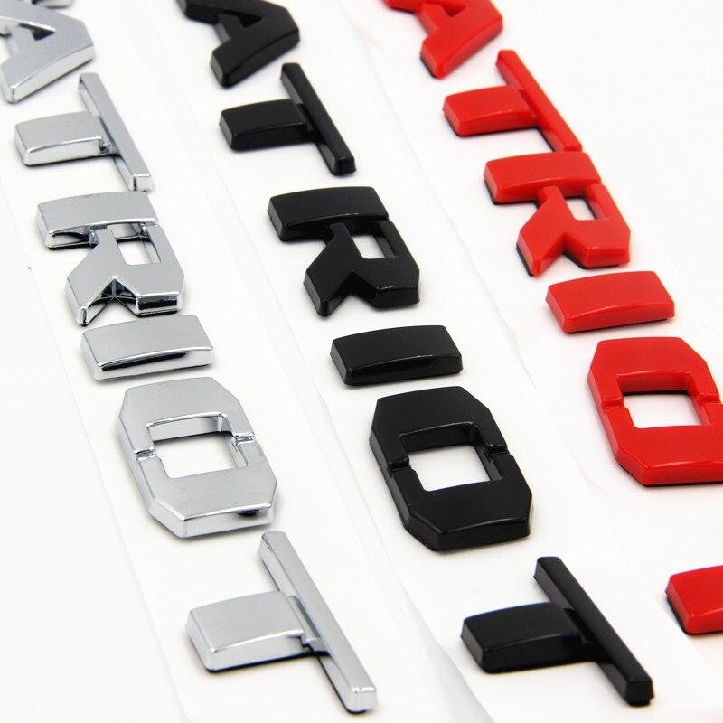 Chrome gloss preto vermelho letras palavra