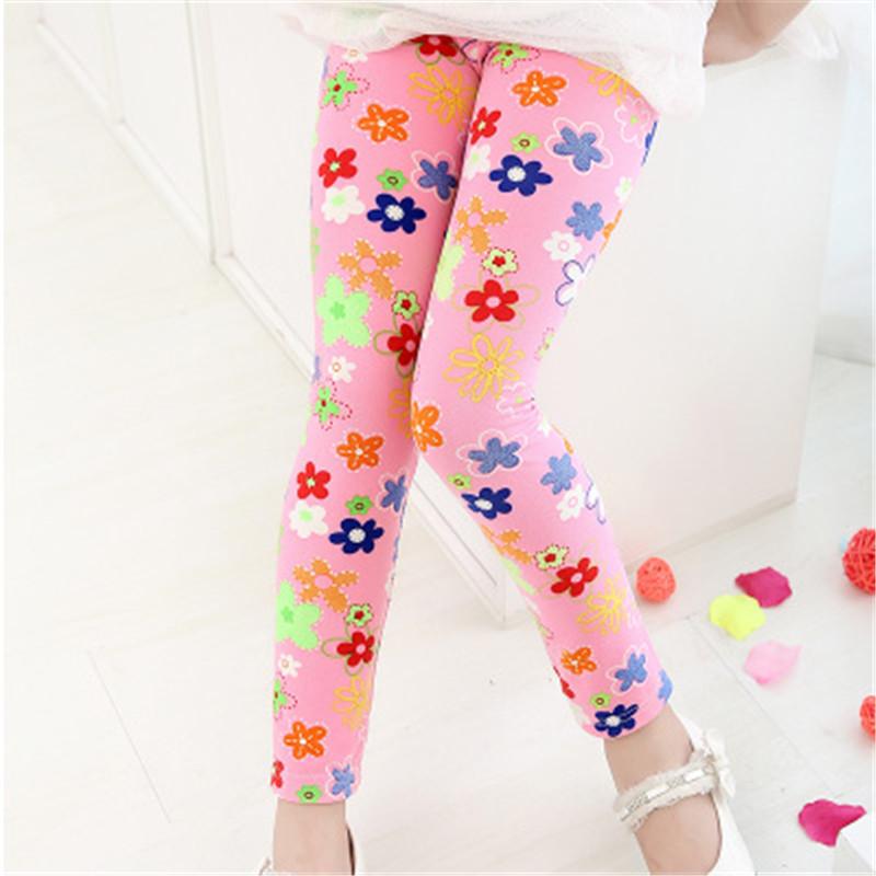 New Style Spring Autumn Children Leggings Flower Butterfly girls pants kids legging 16