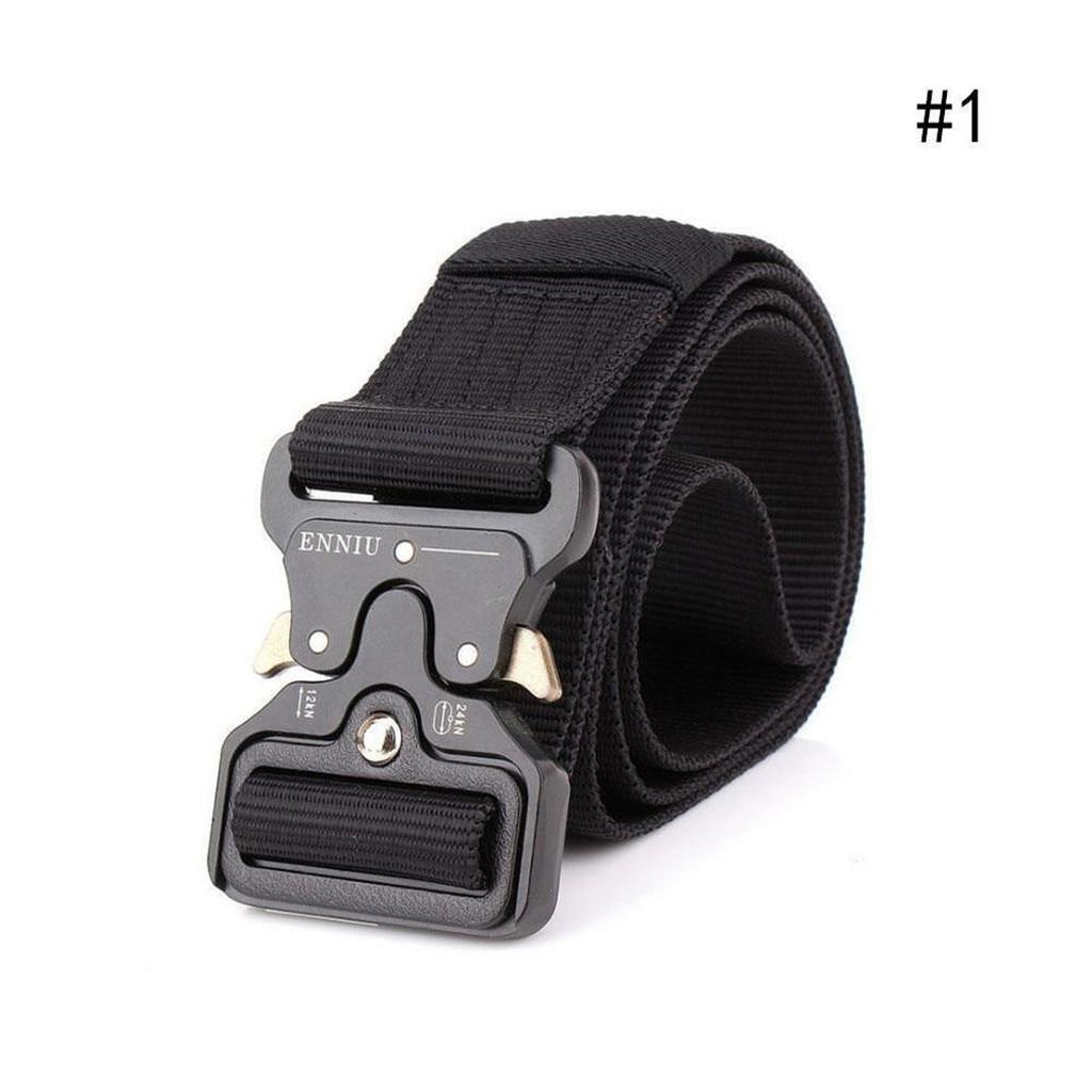 new design   belts   men Tactical Military Canvas   Belt   Military Men's Outdoor Training   Belt   Fashion Accessory