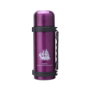 Image 5 - YIHAO 1000ML Hot Sale Double Wall Thermos Bottle Stainless Steel Vacuum Outdoor Large capacity Portable Travel Thermoses Flasks