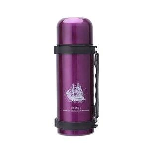 Image 5 - YIHAO 1000ML offre spéciale Double paroi Thermos bouteille en acier inoxydable vide en plein air grande capacité Portable voyage Thermoses flacons