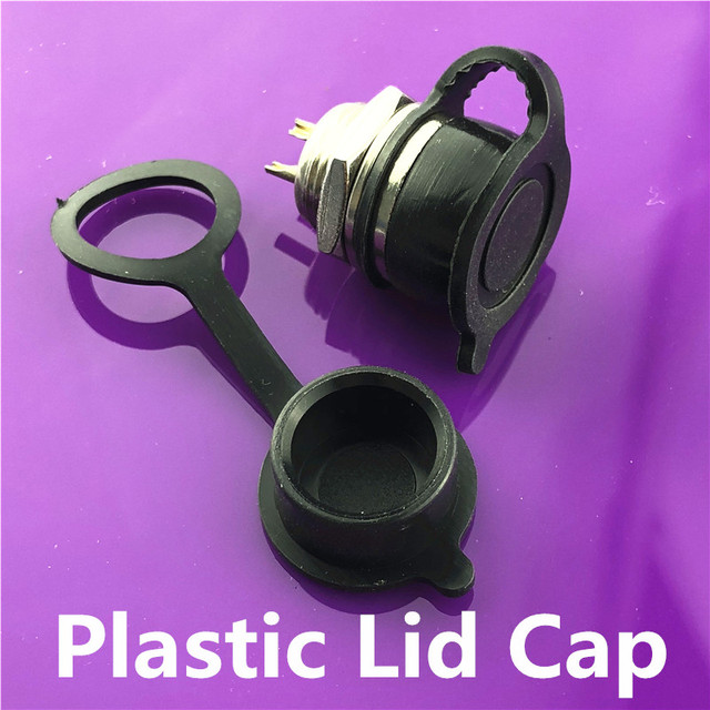 1set GX12 2/3/4/5/6/7 Pin Male + Female 12mm L88-93 Circular Aviation Socket Plug Wire Panel Connector with Plastic Cap Lid