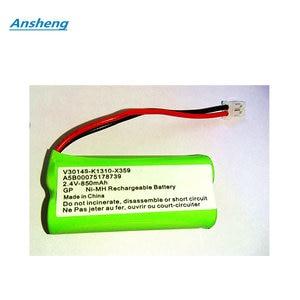 High Quality 2.4V 850MAH NI-MH Battery For SIEMENS A120 A160 A165 A240 C28 C42 C360 V30145-K1310-X359 A5B00075178(China)