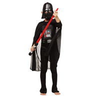 BOOCRE Movie Star Wars 1 Cosplay Darth Vader Children Costumes Jumpsuits Sets ( Mask + Belt + Jumpsuit + Cloak )