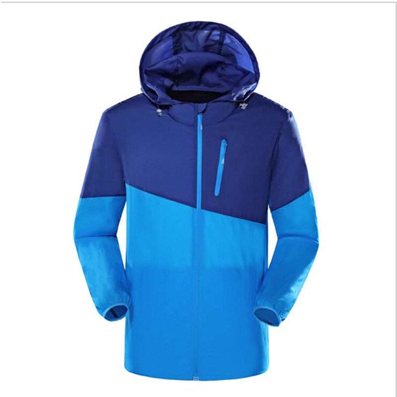 Новый Быстросохнущий тонкая кожа Пыли Куртка Для женщин Для мужчин Водонепроницаемый Защита от солнца защита от ультрафиолетовых лучей од...
