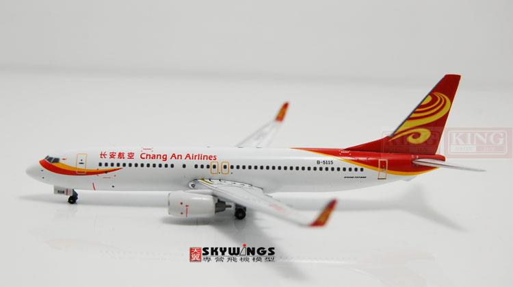 Special offer: WT4738008 B737-800/w Changan Airlines B-5115 1:400 Witty commercial jetliners plane model hobby  phoenix 11093 ruian airlines ei fei 1 400 b737 800 w commercial jetliners plane model hobby