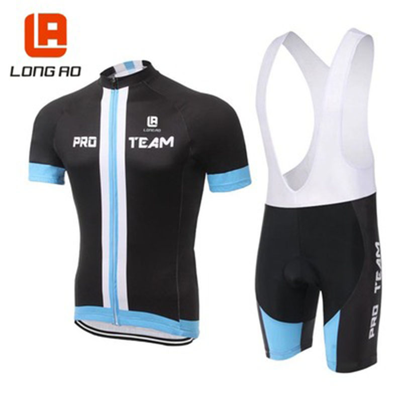 2018 Professional Team Summer New Bike Jersey Set MTB Bike Unisex Short Sleeve Set 100% Polyester Quick-drying Riding jersey