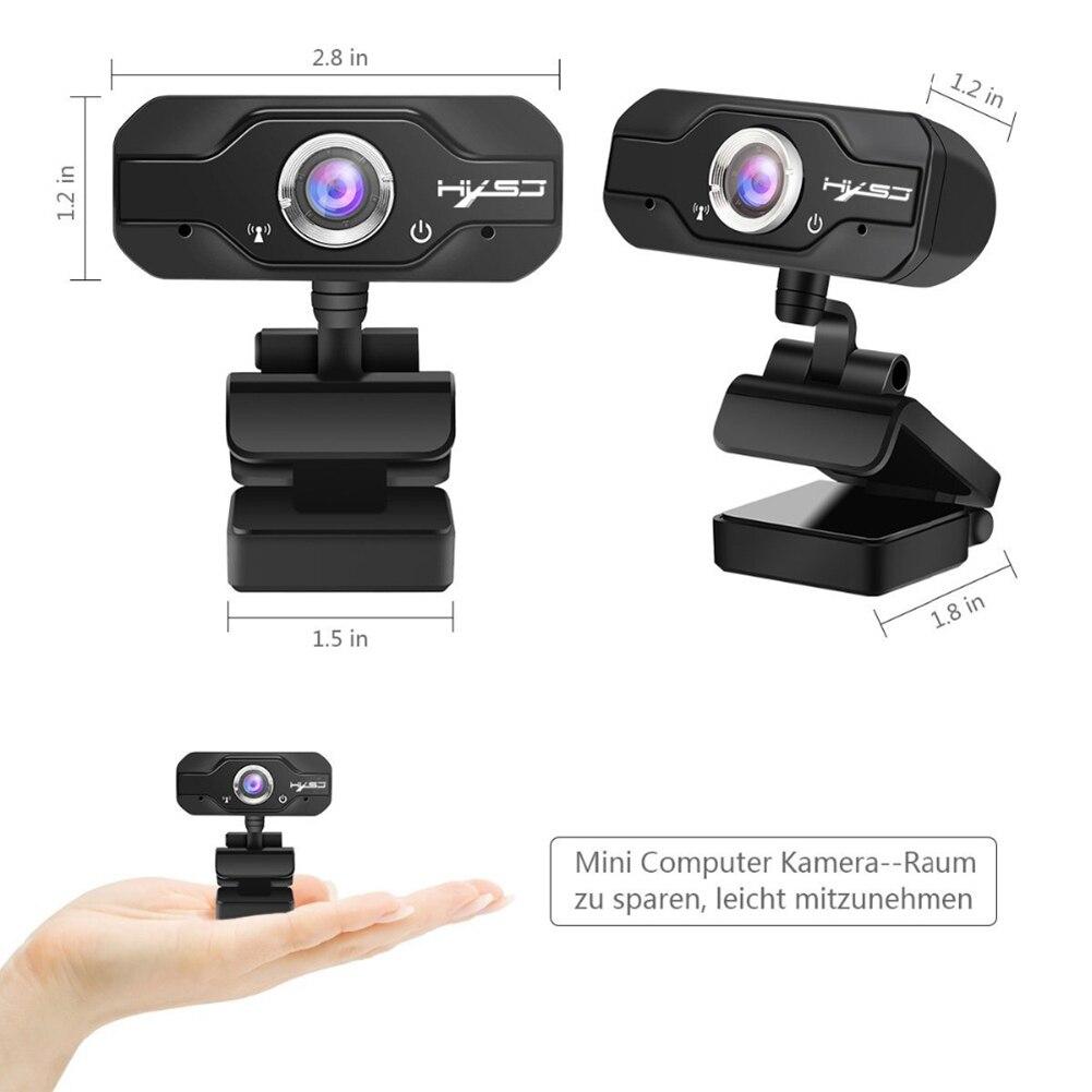 S60 1080 P HD Webcam USB écran large ordinateur Microphone caméra pour PC ordinateur portable webcam pc 1080 p - 6
