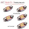 5 шт./компл. CX-5 Авто чтение свет 31 мм led C5W canbus лампы гирлянда 4014SMD 12 В автомобилей лампы Автомобилей свет Внутреннего Освещения