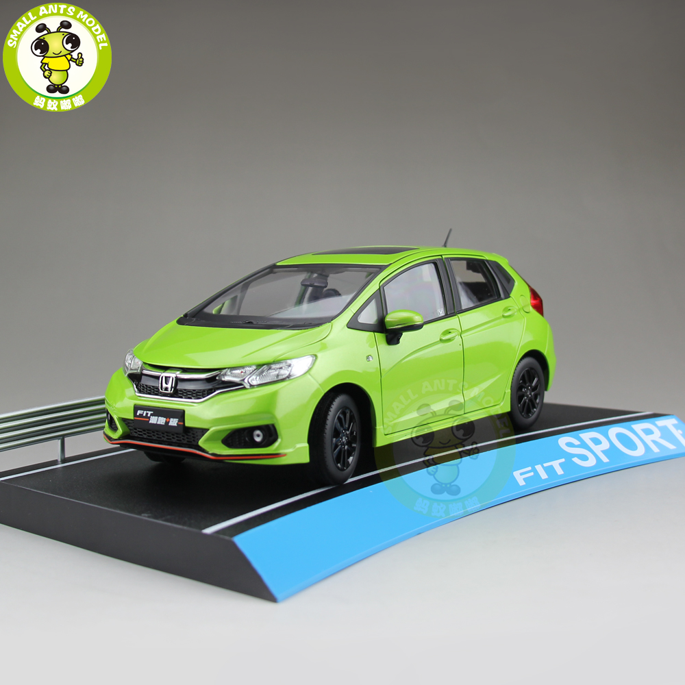 1/18 Honda FIT Sport 2018 Diecast Metal Car Model Toys Girl Boy Birthday Gift Collection Hobby Green1/18 Honda FIT Sport 2018 Diecast Metal Car Model Toys Girl Boy Birthday Gift Collection Hobby Green