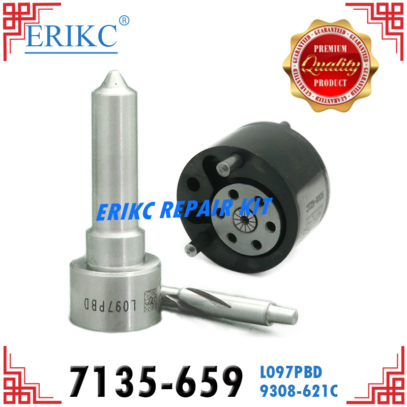 ERIKC Diesel Injector Pump Parts 33800-4X500 Control Valve 9308-621C Fuel Injector 7135-659 for HYUNDAI