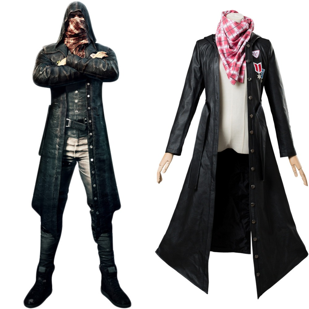 Hot Game Pubg Player Unknown's Battlegrounds Cosplay Costume Adult Female Suit Cosplay Costumes(Coat+Scarf) Custom Made