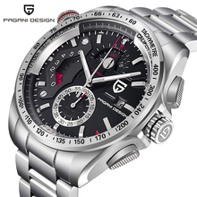 PAGANI DESIGN Luxury Men Watches Full Steel Military Quartz Wrist Watch Sports Business Men's Wristwatch Relogio Masculino
