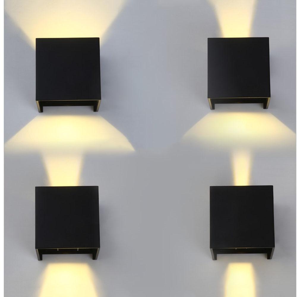 6W 12W LED wall light fixture IP65 Waterproof Aluminum AC85-265V outdoor light for garden patio gallery energy saving6W 12W LED wall light fixture IP65 Waterproof Aluminum AC85-265V outdoor light for garden patio gallery energy saving