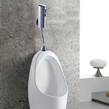 Automatic Sensor Urinal Flush Valve For Men Bathroom Lavatory battery powered automatic sanitary ED04